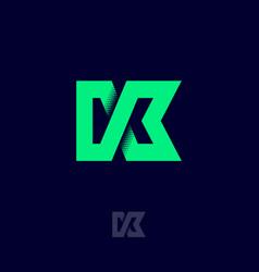 k monogram vector image