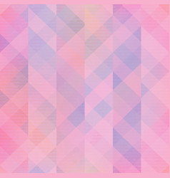 pink mosaic seamless pattern vector image