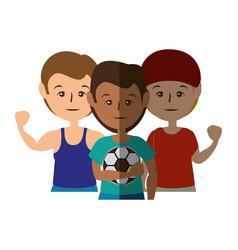 Sport mens cartoon vector