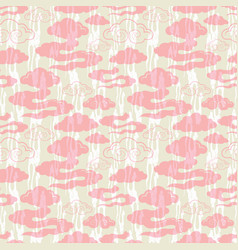 Stylized abstract lilac pink vector