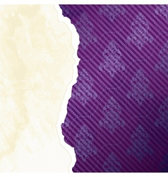 vibrant torn paper banner vector image vector image