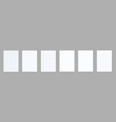 Creative of realistic square vector