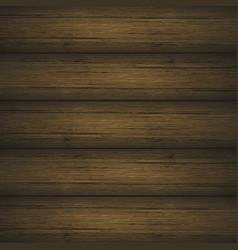 dark brown wooden planks texture vector image