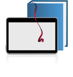 ebook reader vector image vector image