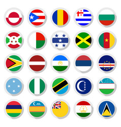 Flags world vector