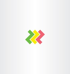 Letter z logo logotype symbol design element vector
