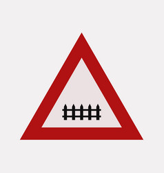Level crossing signal vector
