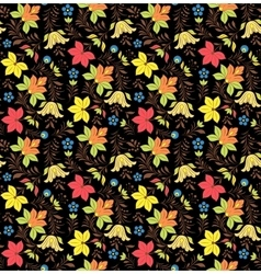 russian seamless pattern vector image