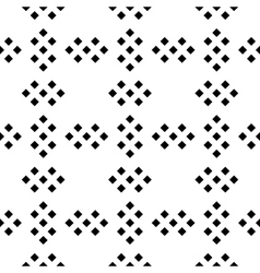 Seamless pattern of rombus groups in black and vector image