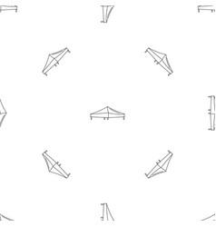 Tent pattern seamless vector