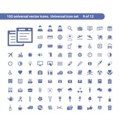 Universal web icons vector