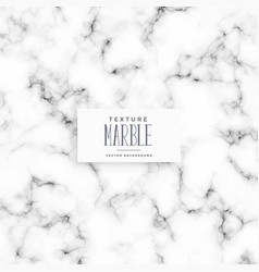 White marble texture background design vector