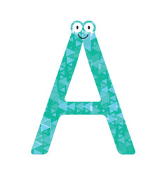 letters of the english alphabet vector image