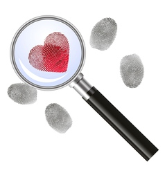Looking for love - concept vector