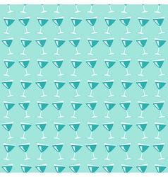 Wine glasses pattern vector