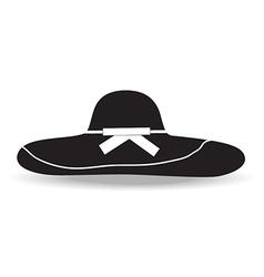 woman hat vector image