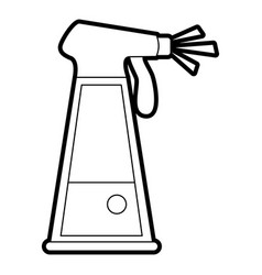 water in spray bottle icon image vector image vector image
