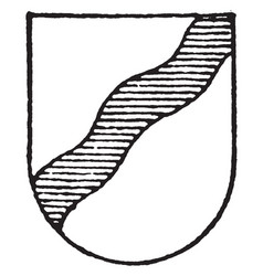 Argent ordinary is a bend on sinister left vector