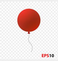 Ballon isolated on a transparent vector