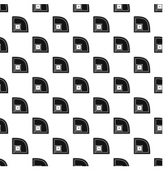 Baseball field pattern vector