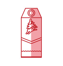 Christmas shopping label vector