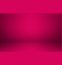 empty pink studio room interior clean workshop vector image