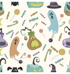 Halloween pumpkin pattern 01 vector