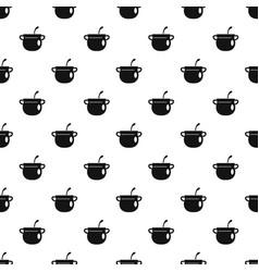 Magic cauldron pattern seamless vector