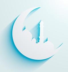 ramadan eid design vector image