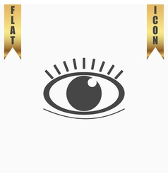 icon - Human eye vector image