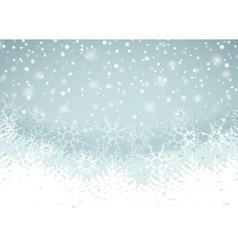 Winter Landscape vector image