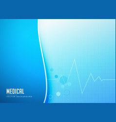 Abstract medical pharmacy background template vector