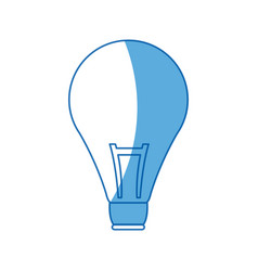Bulb creativity idea think innovation icon vector