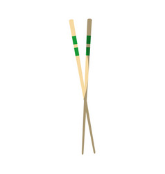 Chinese sticks icon vector