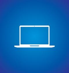 computer electronic theme vector image