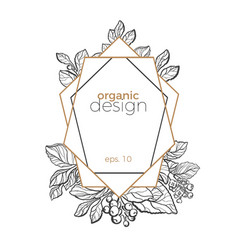 Design template symbol frame vector