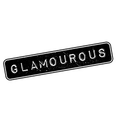 Glamourous rubber stamp vector