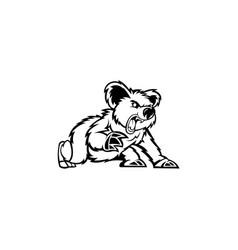 Koala cute bear vector