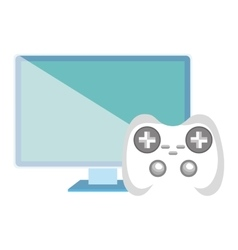 Monitor computer and video game control vector