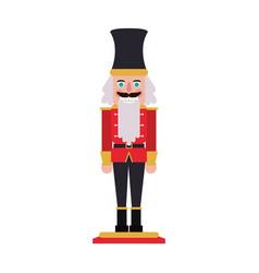 Nutcracker figurine icon image vector