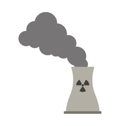 toxic waste contamination icon vector image
