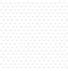 Background of gray hearts vector image vector image