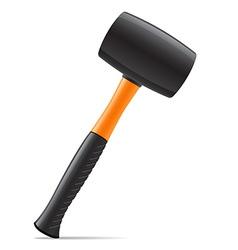 tool hammer 03 vector image