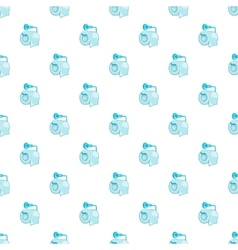 Roll of toilet paper pattern cartoon style vector image