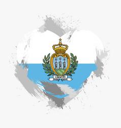 Flag of san marino vector