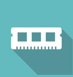 Ram memory cards vector