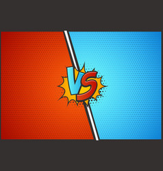 versus battle template vs vector image