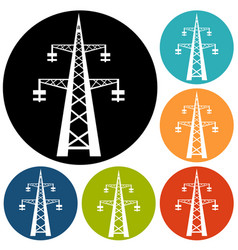 electricity icon vector image