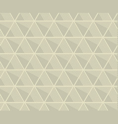 concept seamless pattern with geometry triangle vector image