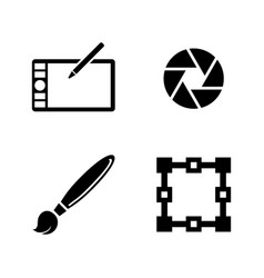 Design simple related icons vector